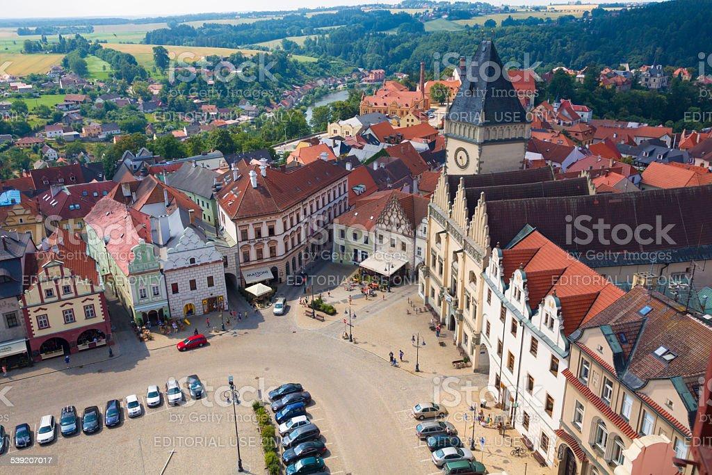 Tabor, Czech Republic stock photo