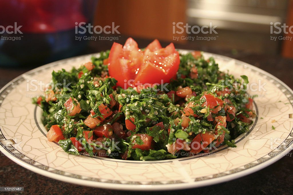 Tabouli stock photo