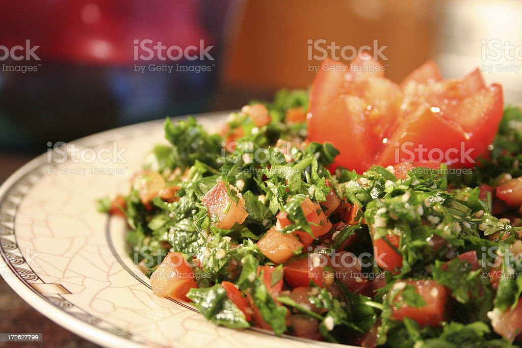 Tabouli royalty-free stock photo