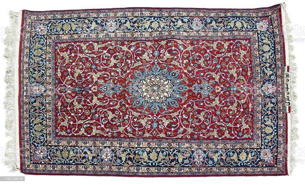 Tabriz carpet stock photo