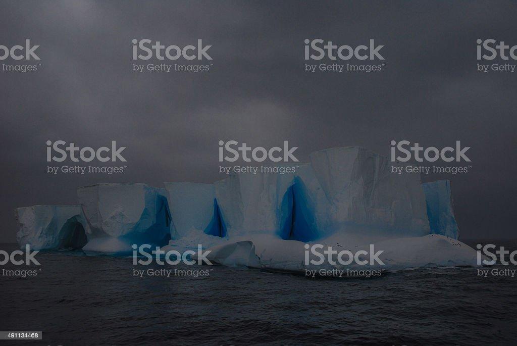 Tabular Iceberg stock photo