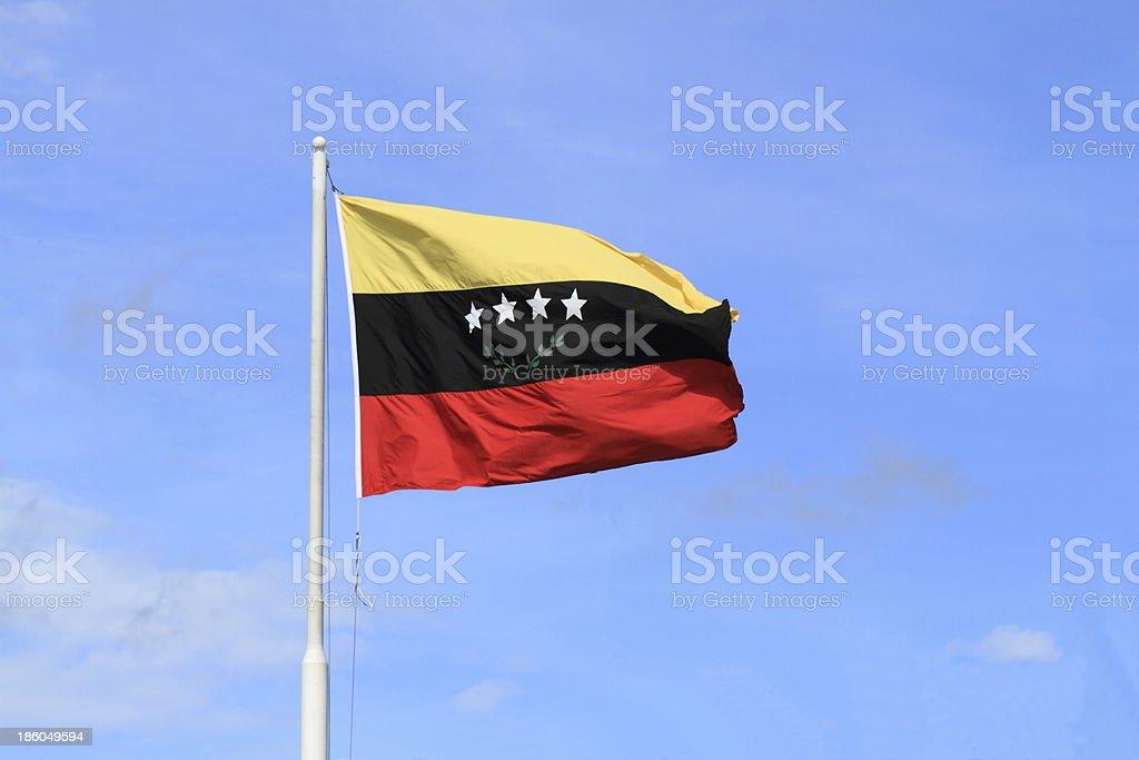 Tachira State Flag stock photo