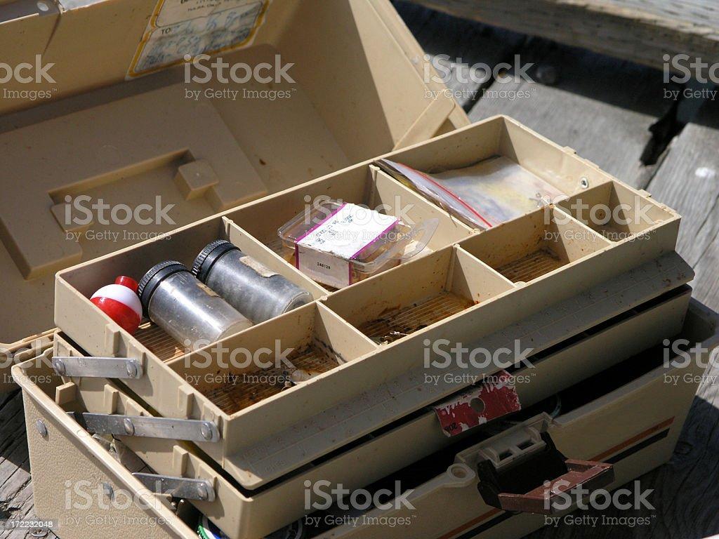 Tackle Box stock photo