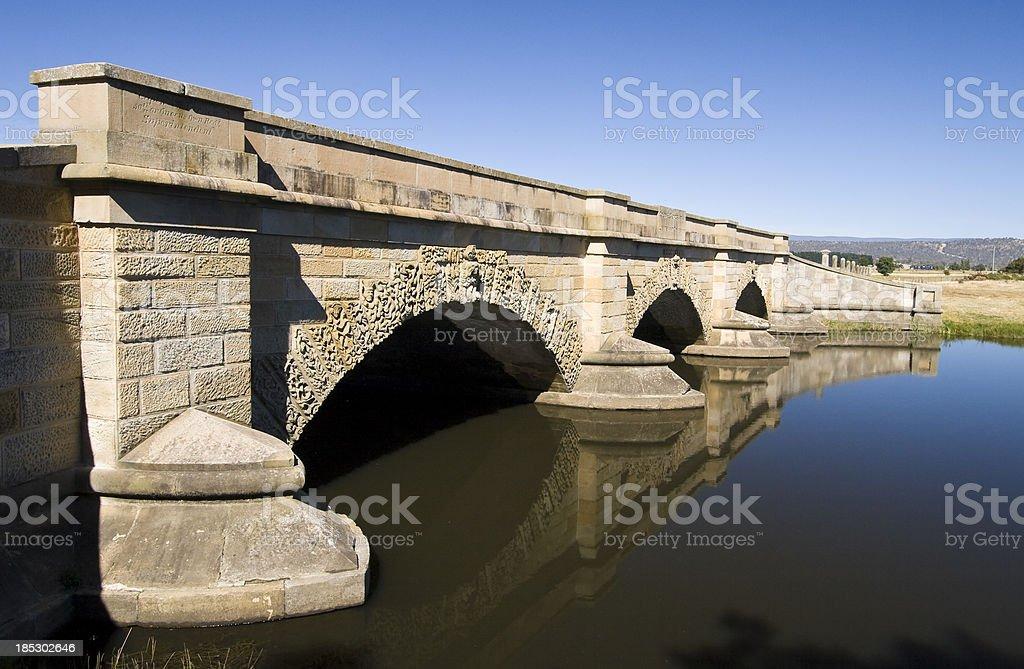 Tacky Creek Bridge stock photo