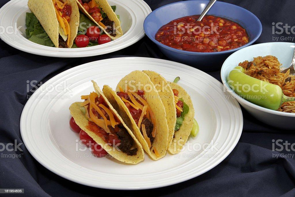 Taco 25 stock photo
