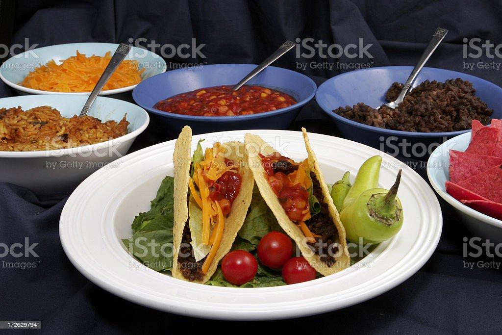 Taco 30 royalty-free stock photo