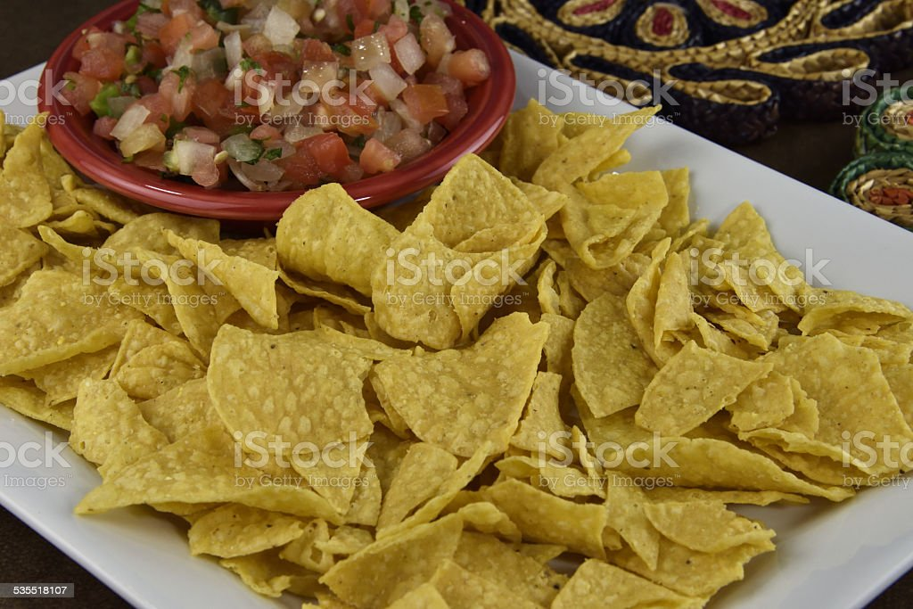 Taco Chips royalty-free stock photo