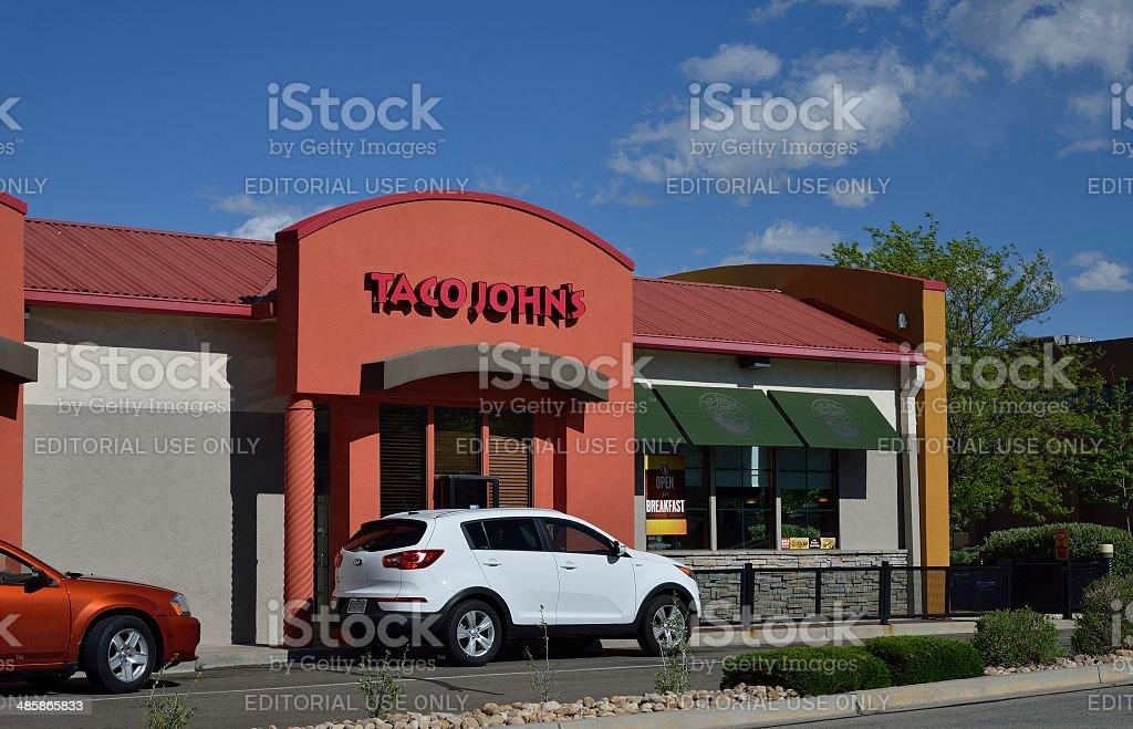 Taco John's stock photo