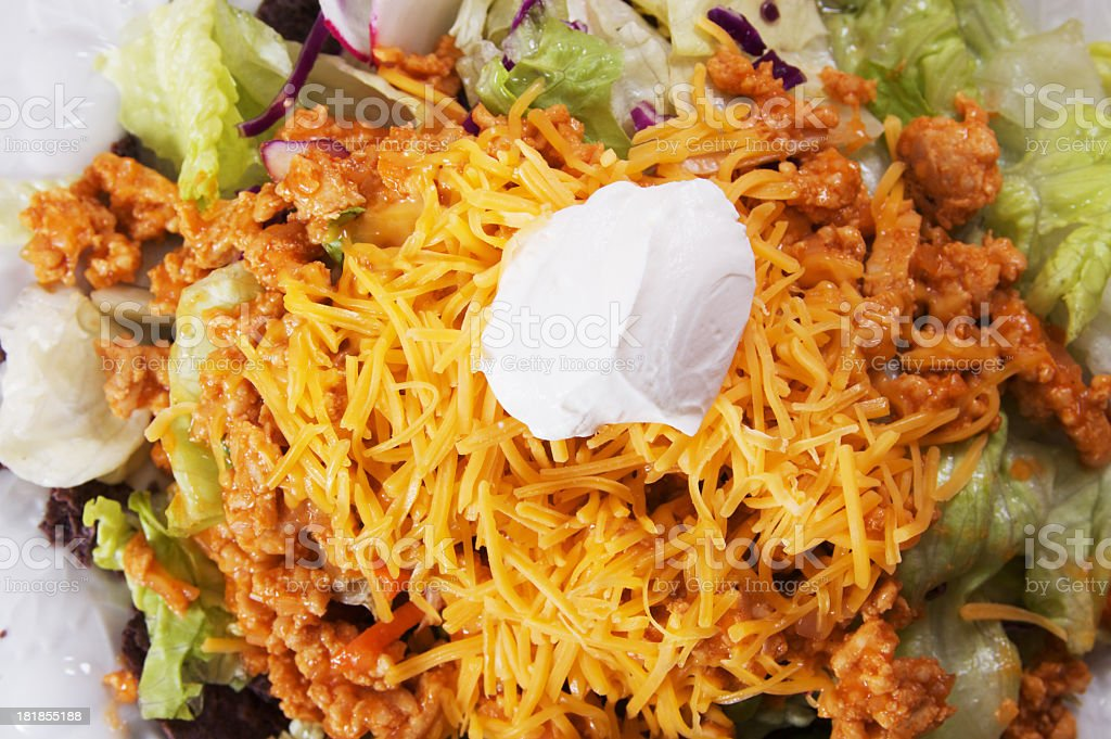 Taco Salad royalty-free stock photo