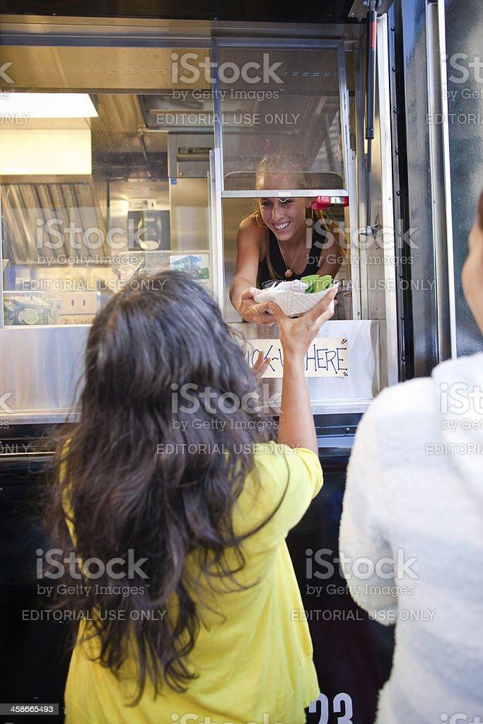Taco truck stock photo