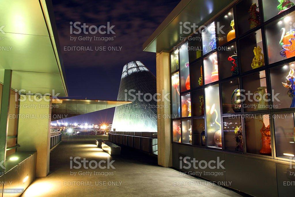 Tacoma City of Glass stock photo