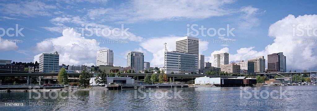 Tacoma, Washington, United States royalty-free stock photo