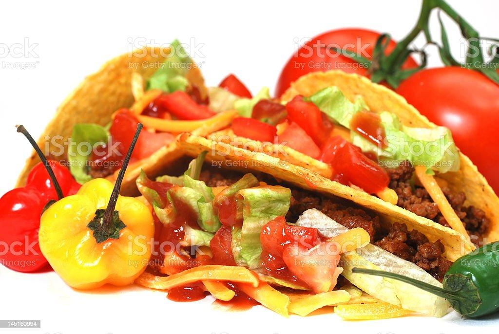 Tacos Closeup stock photo