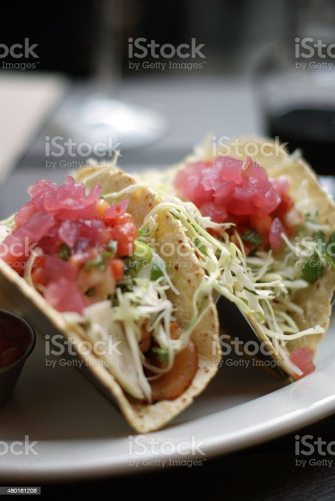 Tacos for Lunch stock photo