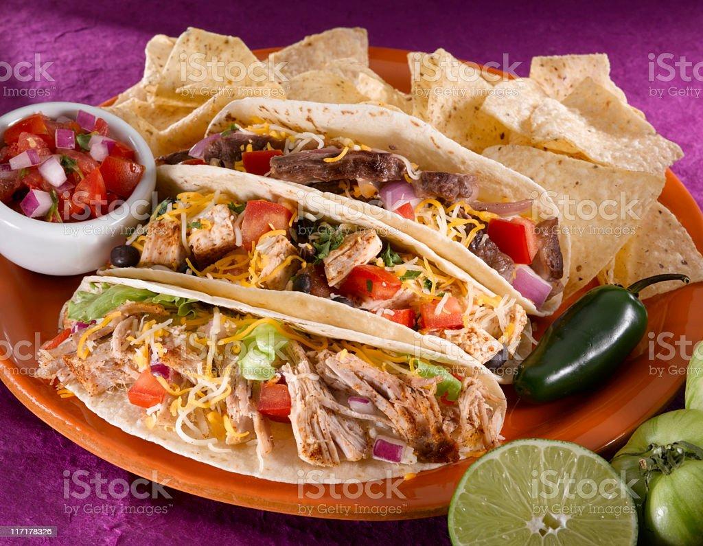 Tacos (soft) royalty-free stock photo