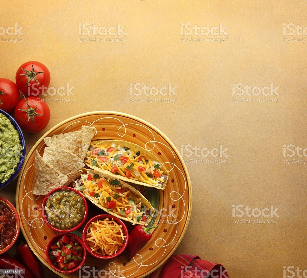Tacos royalty-free stock photo