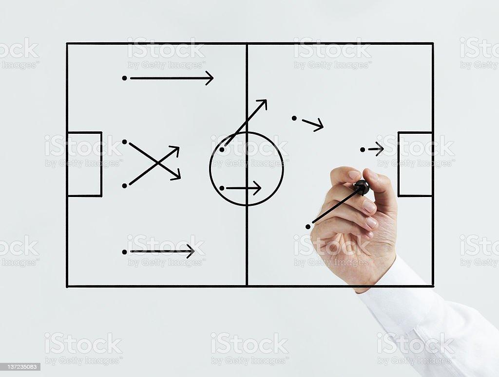 Tactic Board stock photo