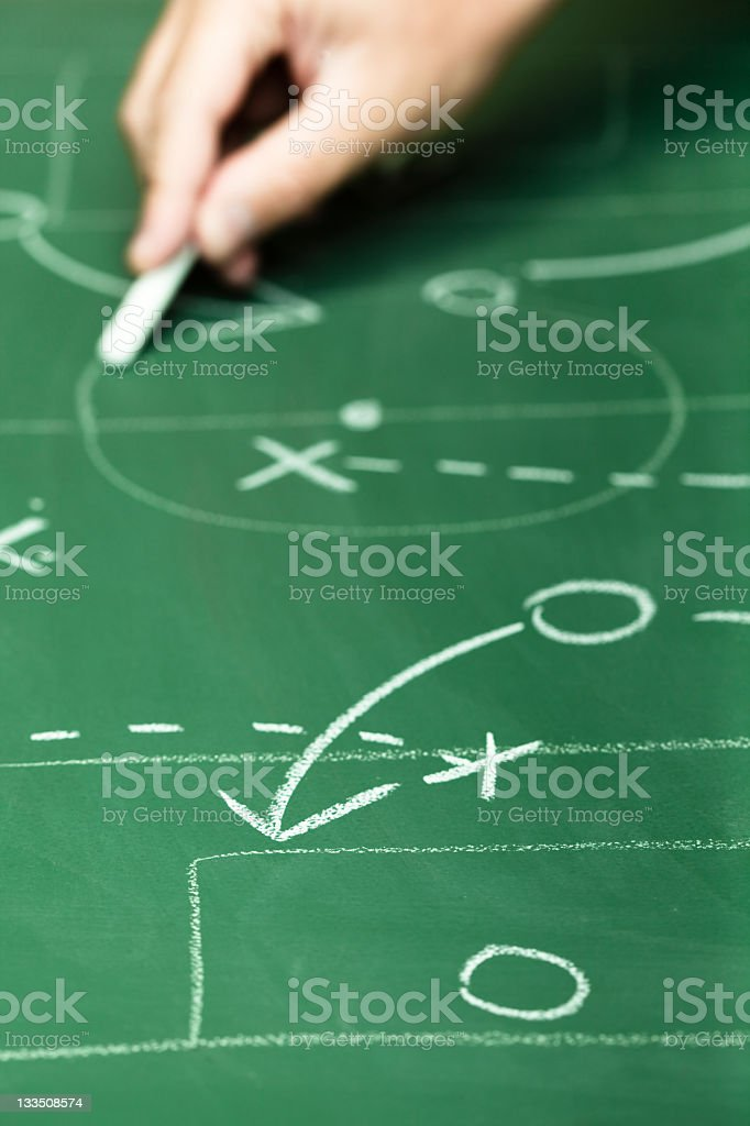 Tactic royalty-free stock photo