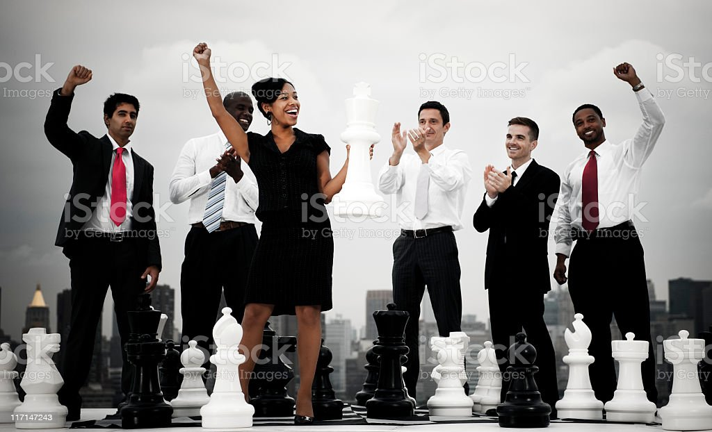 Tactical Business Success royalty-free stock photo