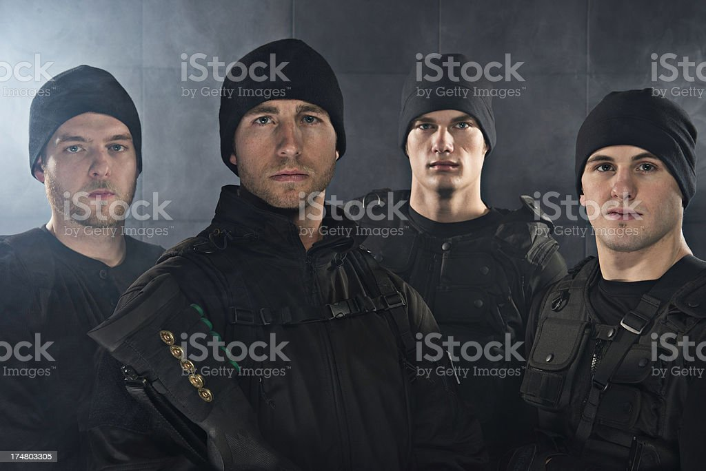 Tactical Teams royalty-free stock photo