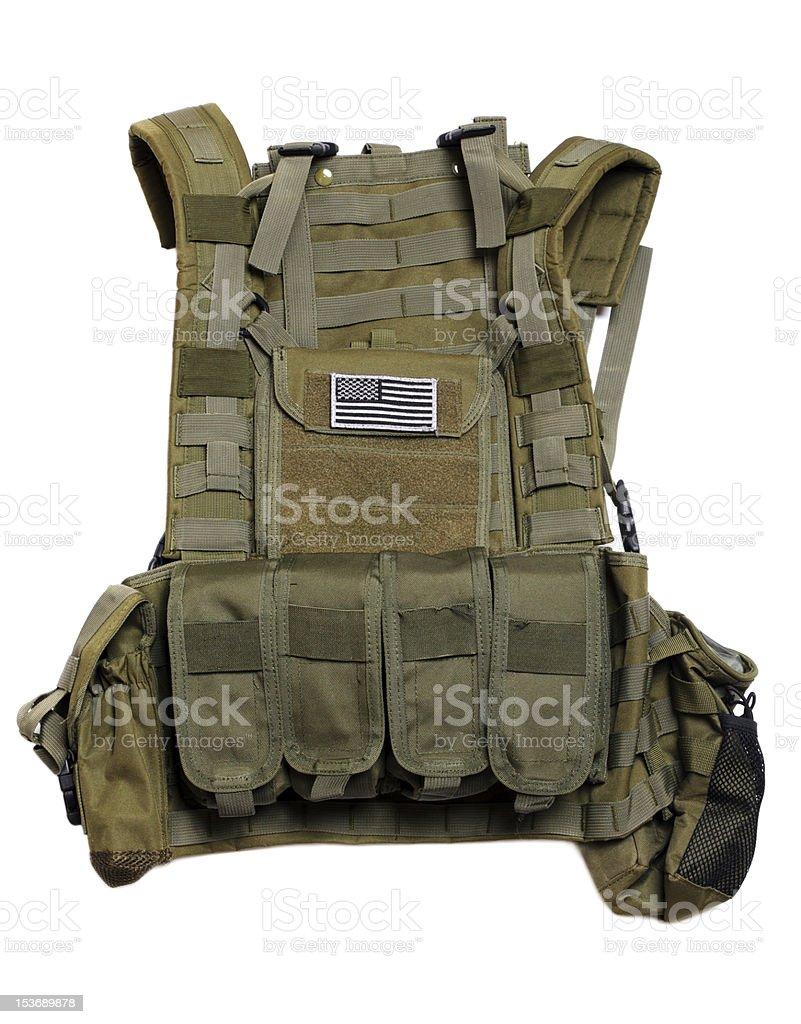 US tactical vest. stock photo