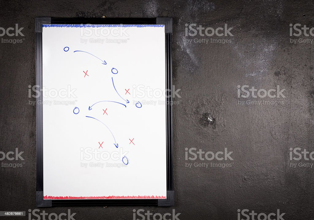 Tactics royalty-free stock photo