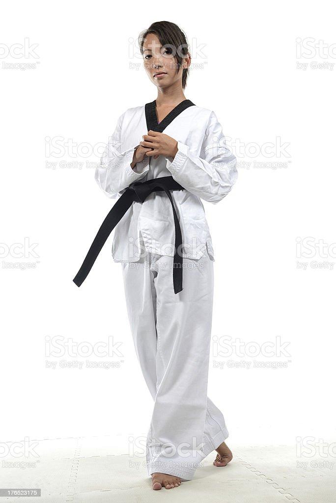 Tae Kwon Do FAQ royalty-free stock photo