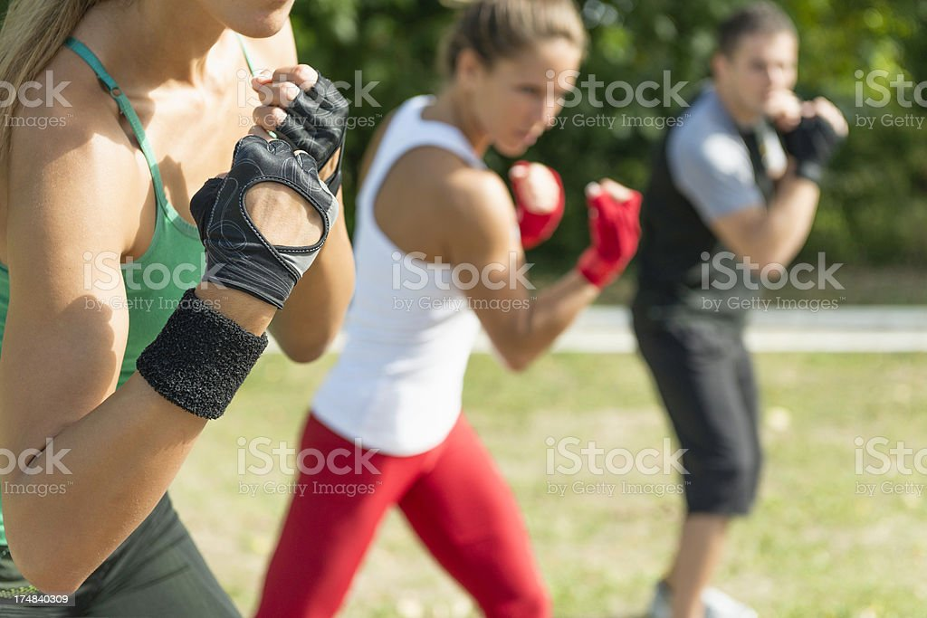 Taebo Exercise stock photo