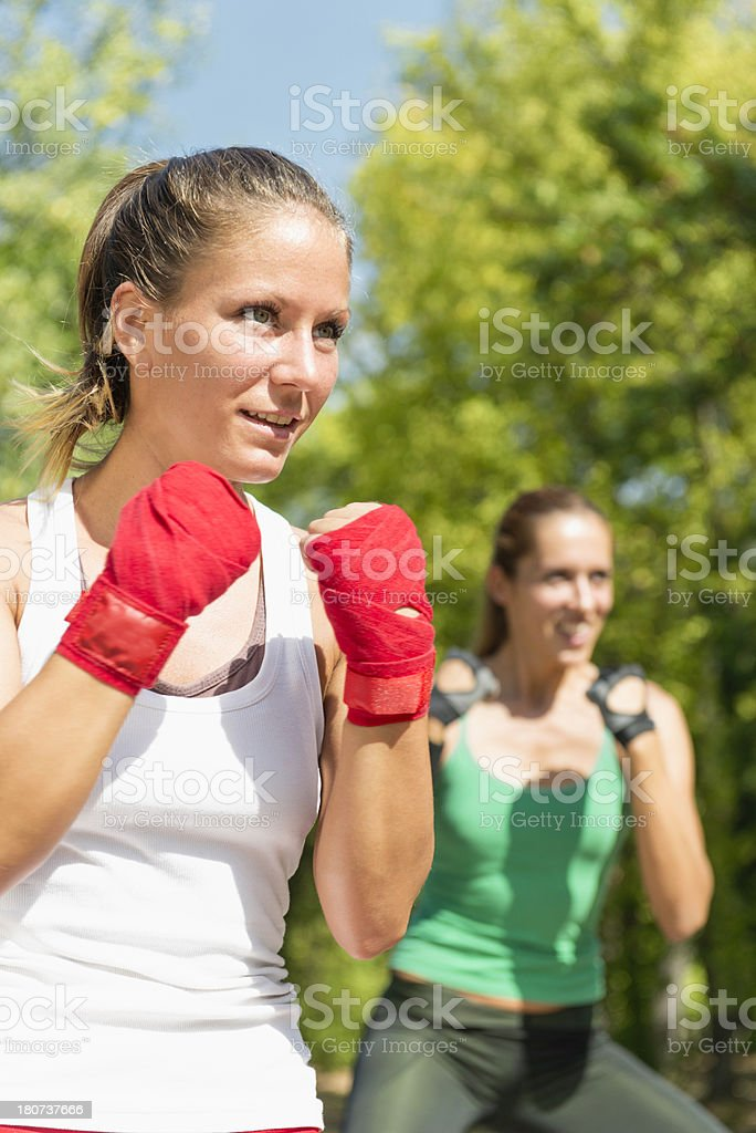 TaeBo Girls stock photo