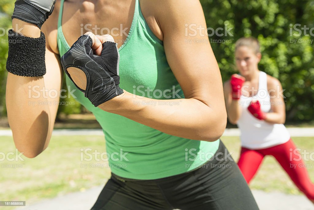 TaeBo moves stock photo