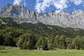 Taellibahn cableway who takes to Gadmen Dolomites