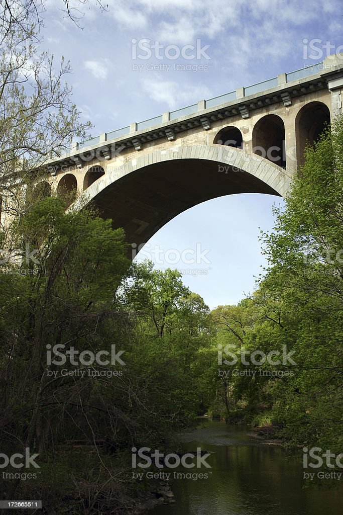 Taft Bridge I: Washington DC stock photo