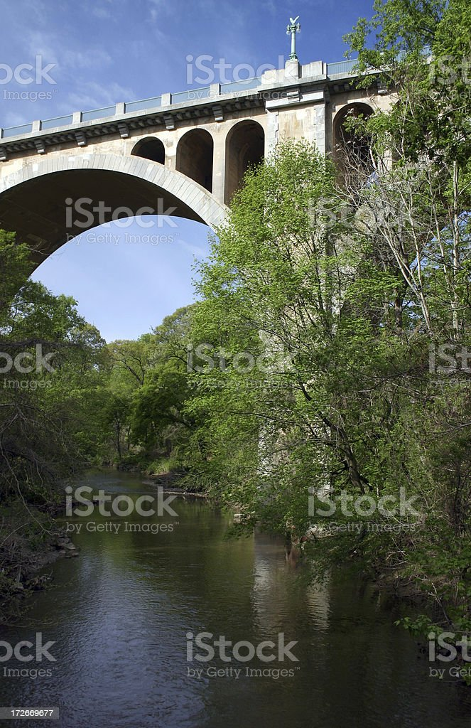 Taft Bridge II: Washington DC stock photo