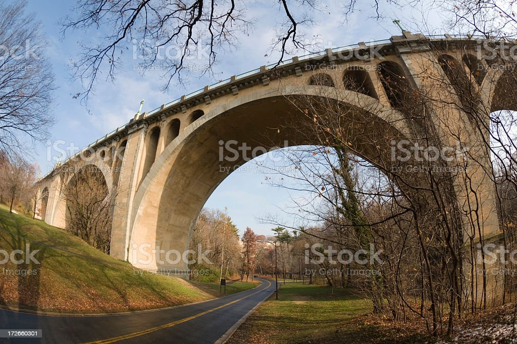 Taft Bridge stock photo