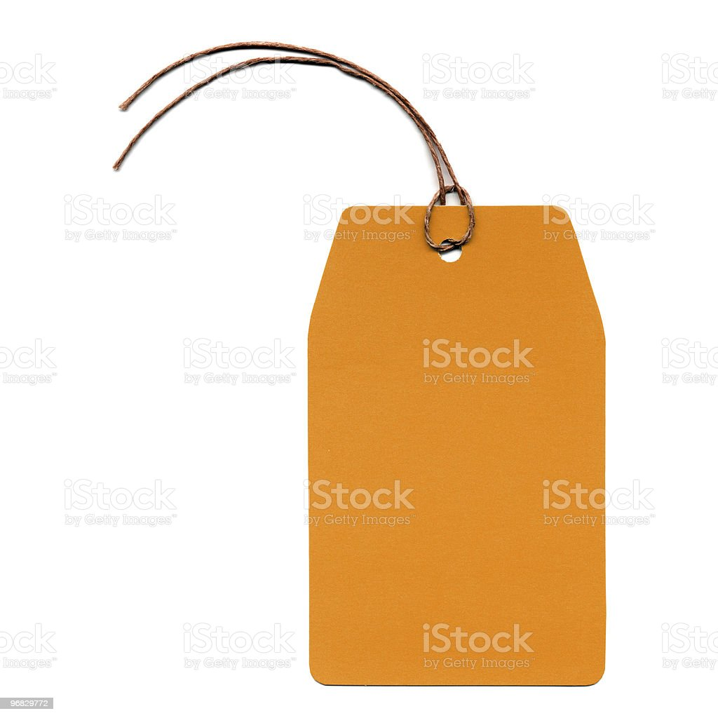 Tag label royalty-free stock photo