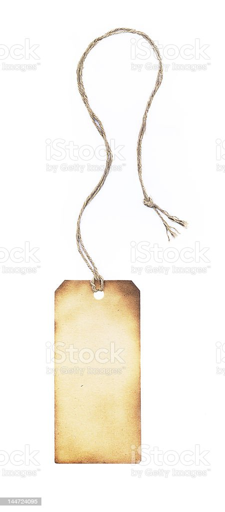 Tag-label, XXL stock photo