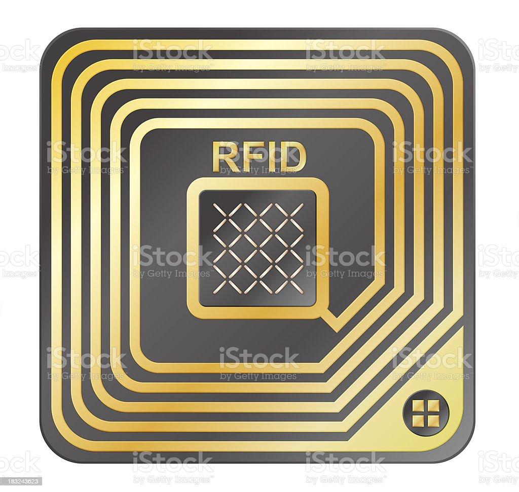 RFID Tag royalty-free stock photo