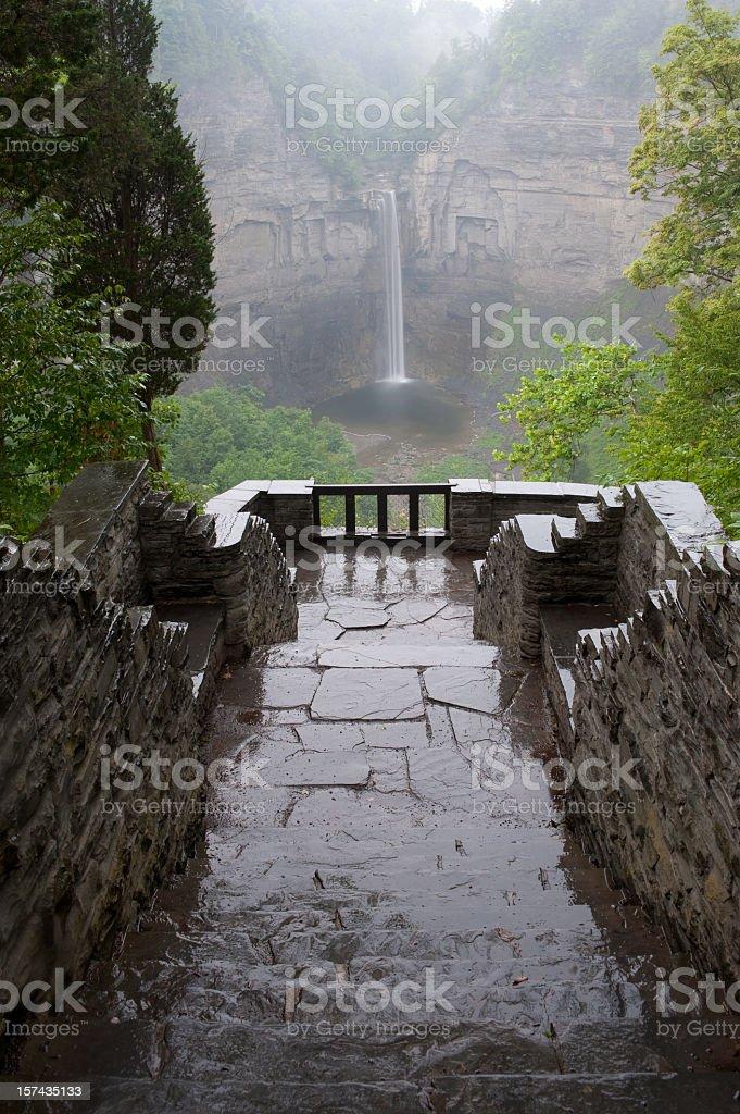 Taganoot Falls in New York stock photo