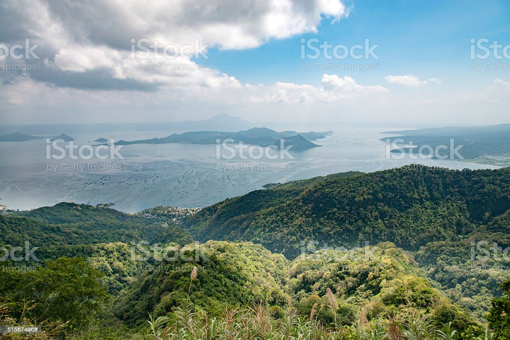 Tagaytay in the Philippines stock photo