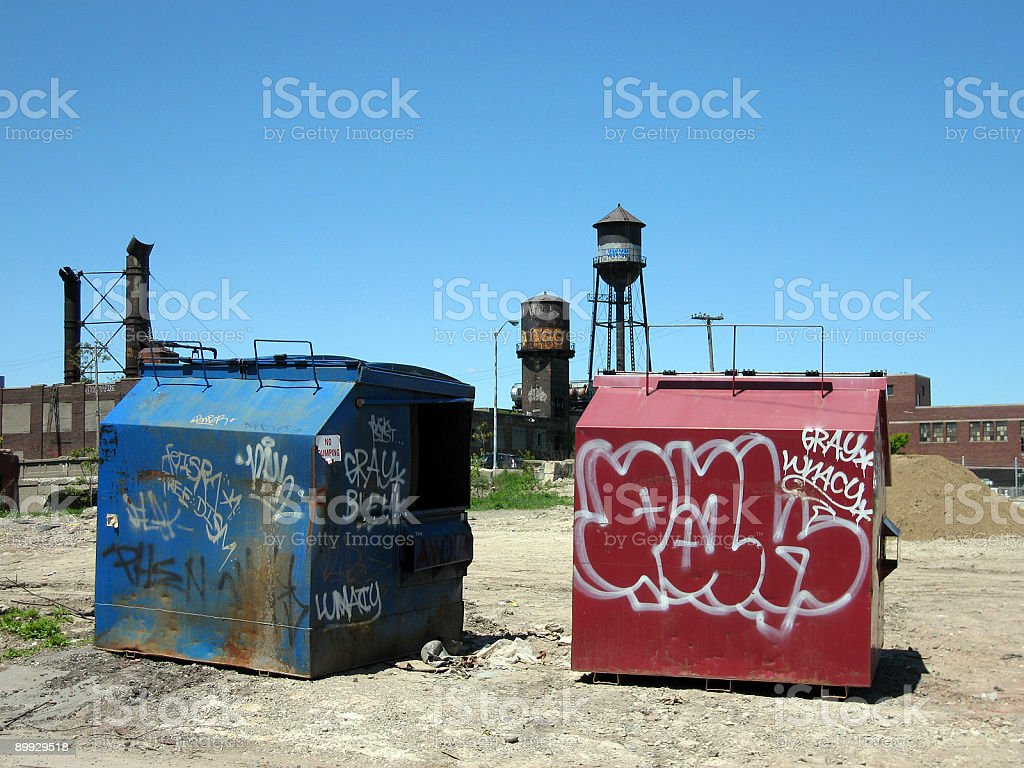 Tagging An Urban Canvas stock photo