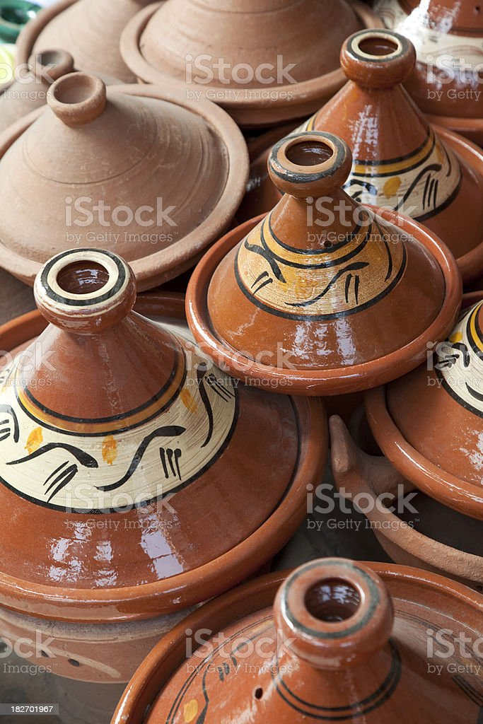 Tagines royalty-free stock photo