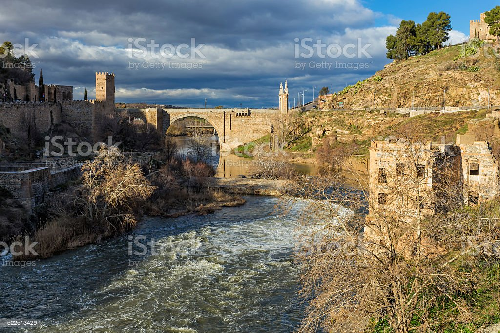 Tagus river stock photo