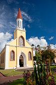 Tahiti Island Cathedral Notre Dame de Papeete