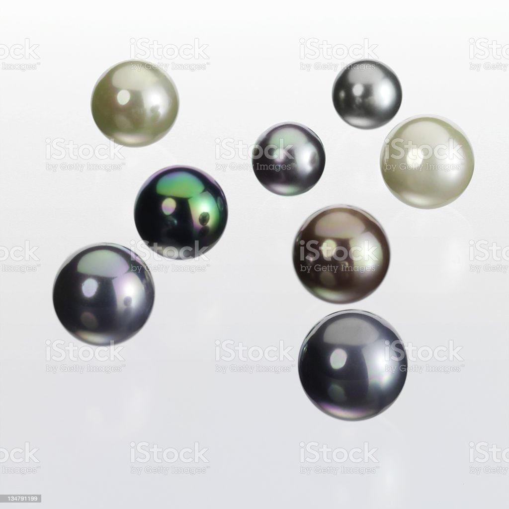 Tahiti Pearls XXL royalty-free stock photo