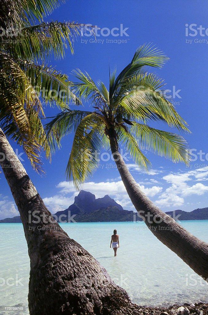 Tahiti stock photo