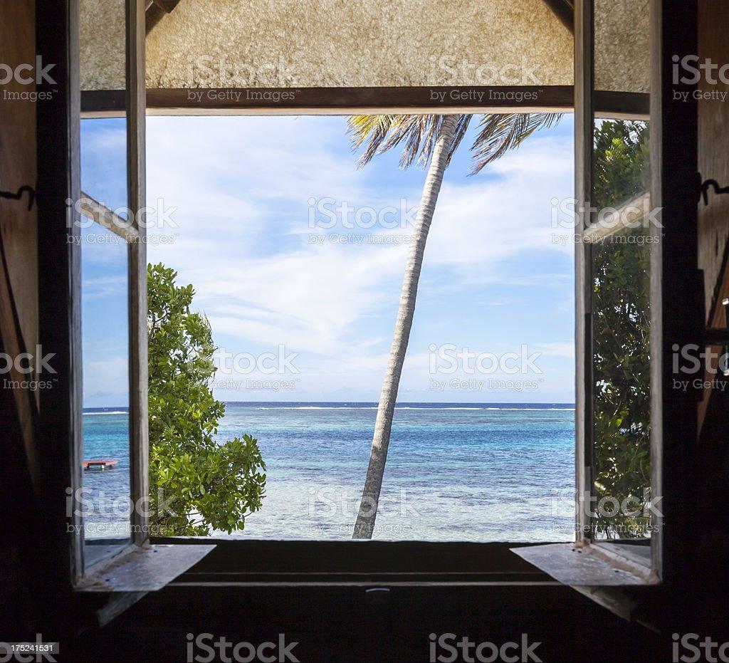 Tahitian Perfection royalty-free stock photo