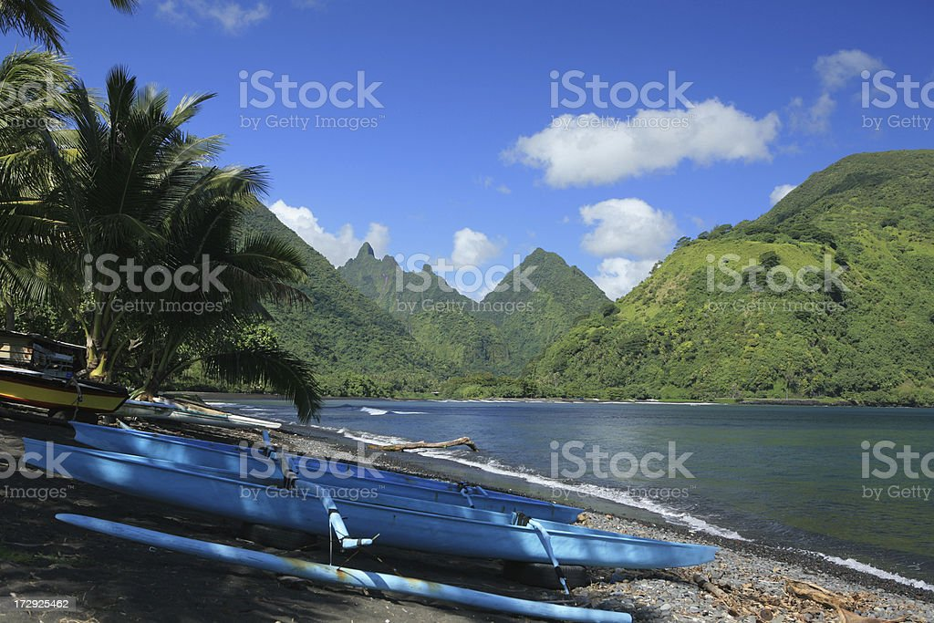 Tahitian view royalty-free stock photo