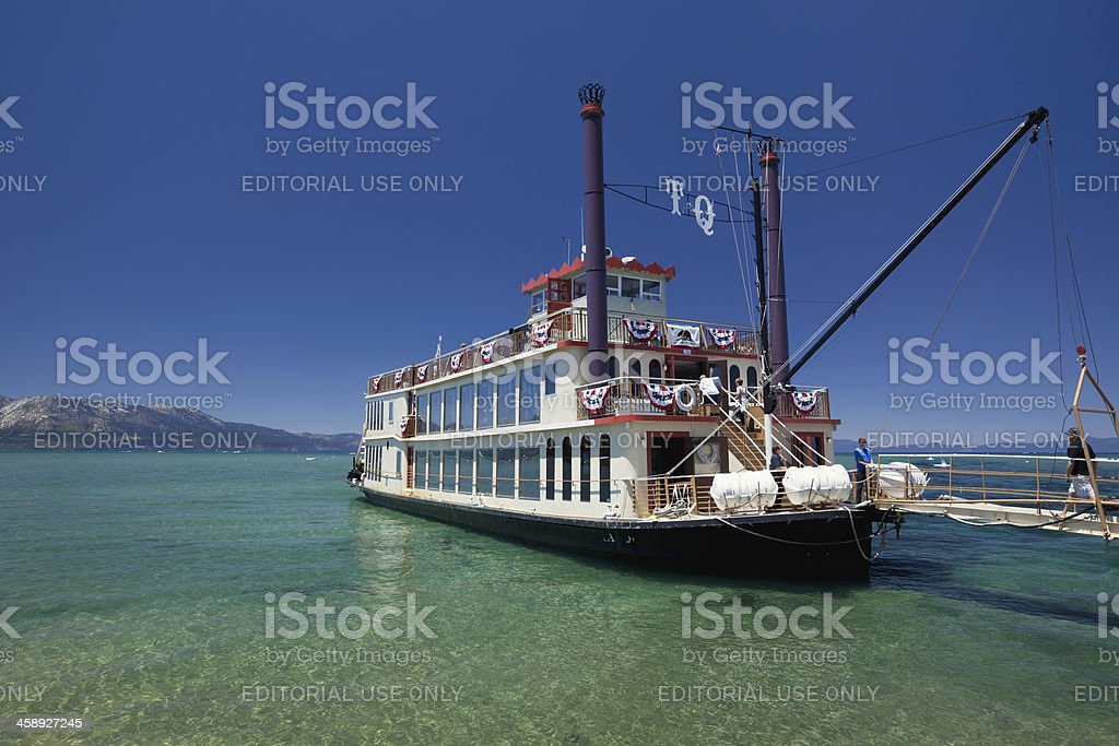 Tahoe Queen stock photo