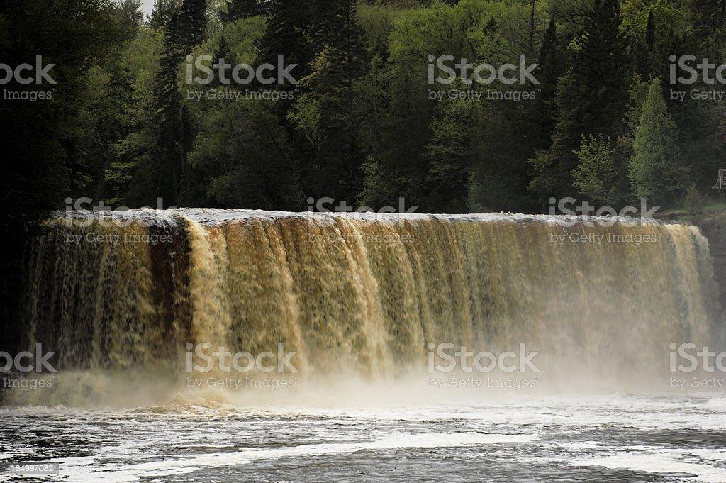 Tahquamenon Falls royalty-free stock photo