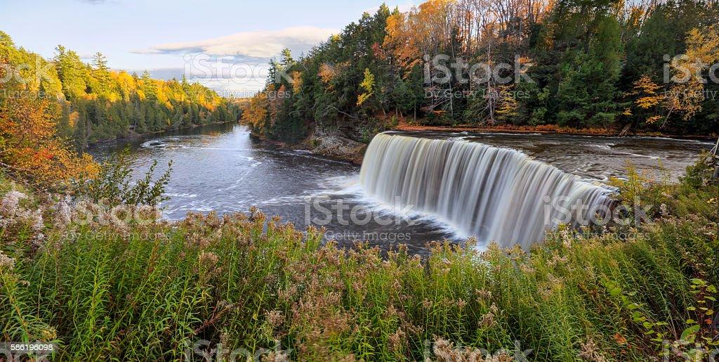 Tahquamenon Falls stock photo